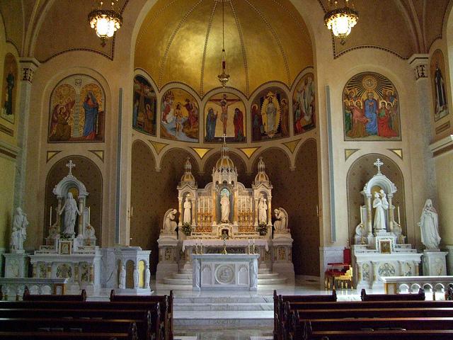 Sacred Heart Church Sanctuary