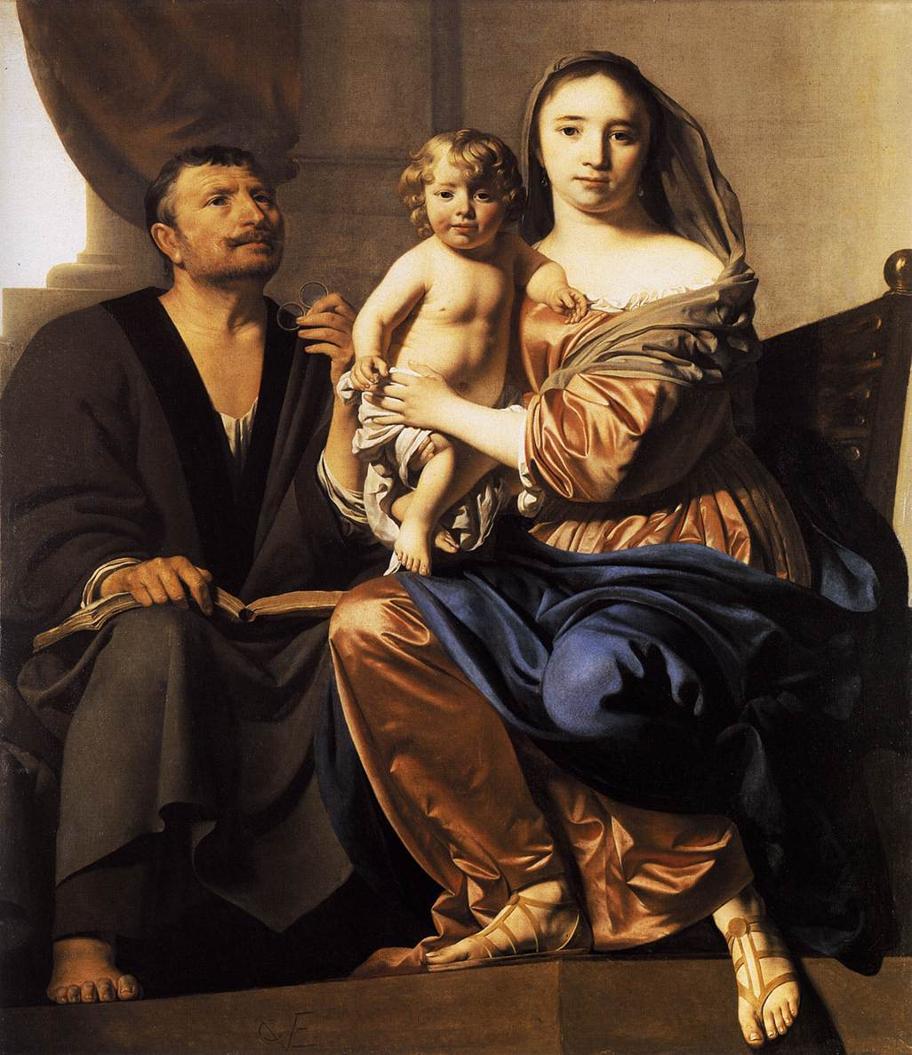 caesar_van_everdingen_the_holy_family_1660
